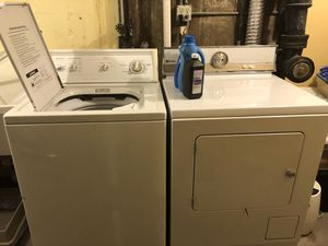 Photo Kenmore washer, Maytag Dryer