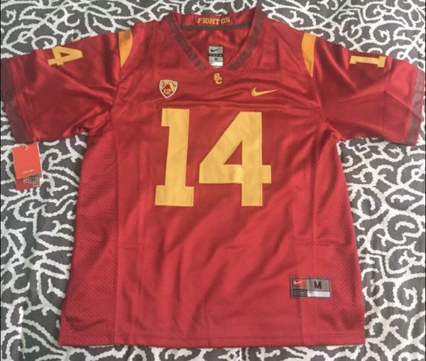 brand new 2111d c2803 New Sam Darnold USC Trojans Stitched Mens Jersey Size Medium M Very Rare  Nike for Sale in Los Angeles, CA - OfferUp
