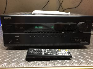 Onkyo TX SR608 7.1 700w Receiver for Sale in Silver Spring, MD