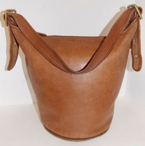 db5d3aaa007 VINTAGE LEATHER COACH Shoulder Bucket Bag w Original Authentic Tags for Sale  in New York