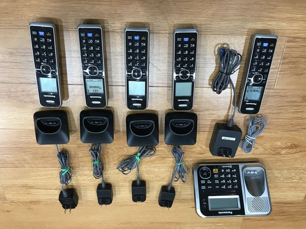 Panasonic KX-TG7871 5 Handset Bluetooth Cordless Phone for Sale in City of  Industry, CA - OfferUp