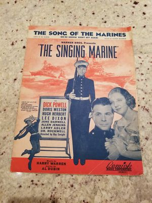 The singing marine sheet music for Sale in Houston, TX
