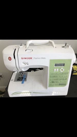 New And Used Sewing Machines For Sale In Gresham OR OfferUp Cool Singer Sewing Machine 6038