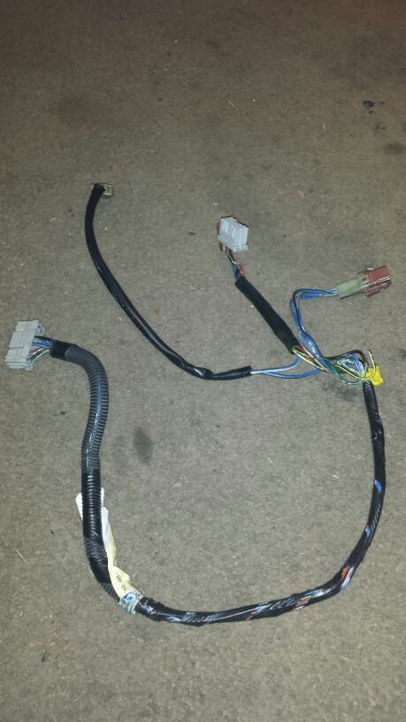 92 to 95 civic eg blower motor wiring harness