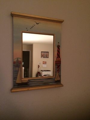 Lighthouse hanging wall mirror for Sale in Apex, NC