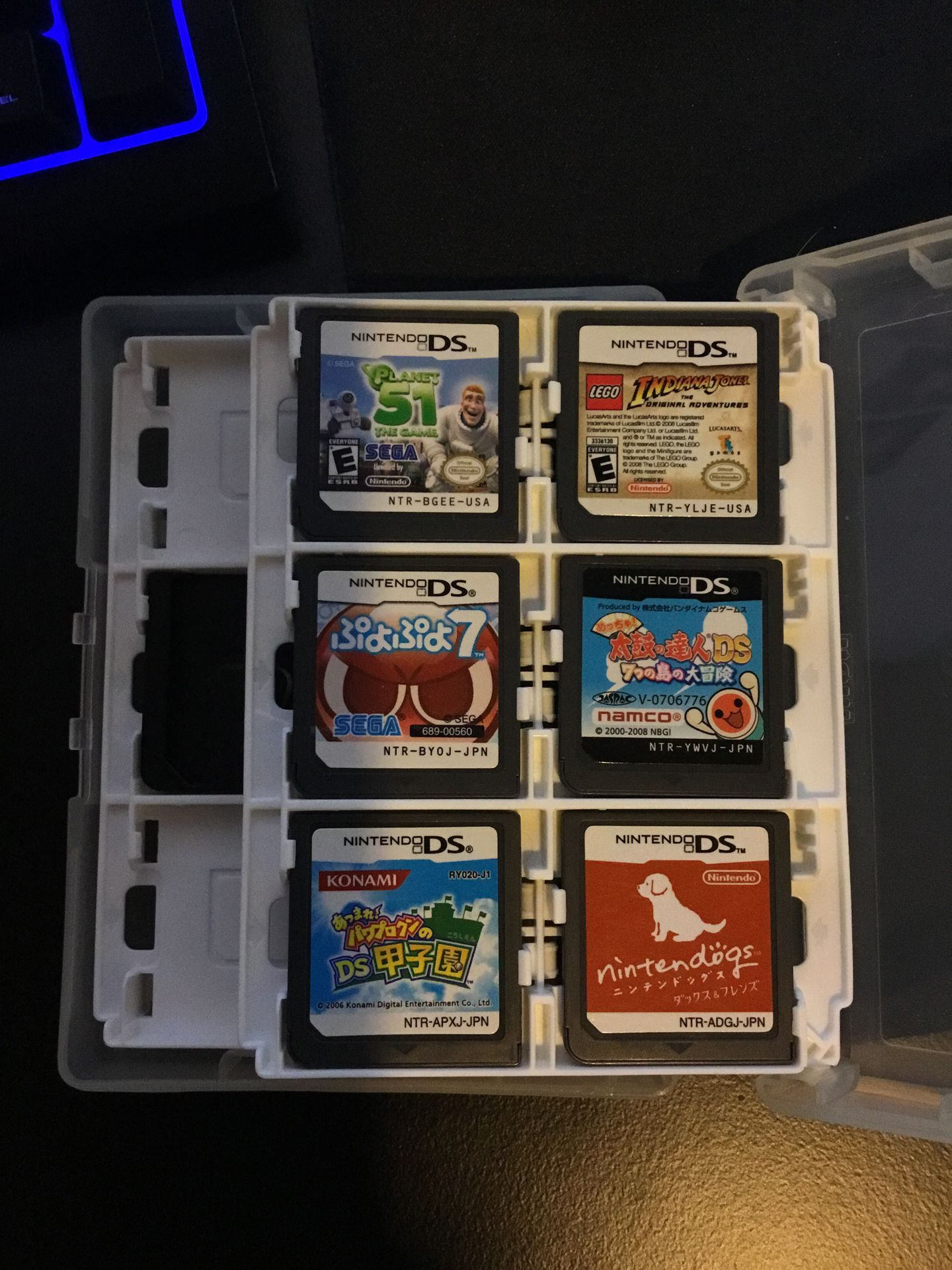 Other games JPN/USA issue assortment