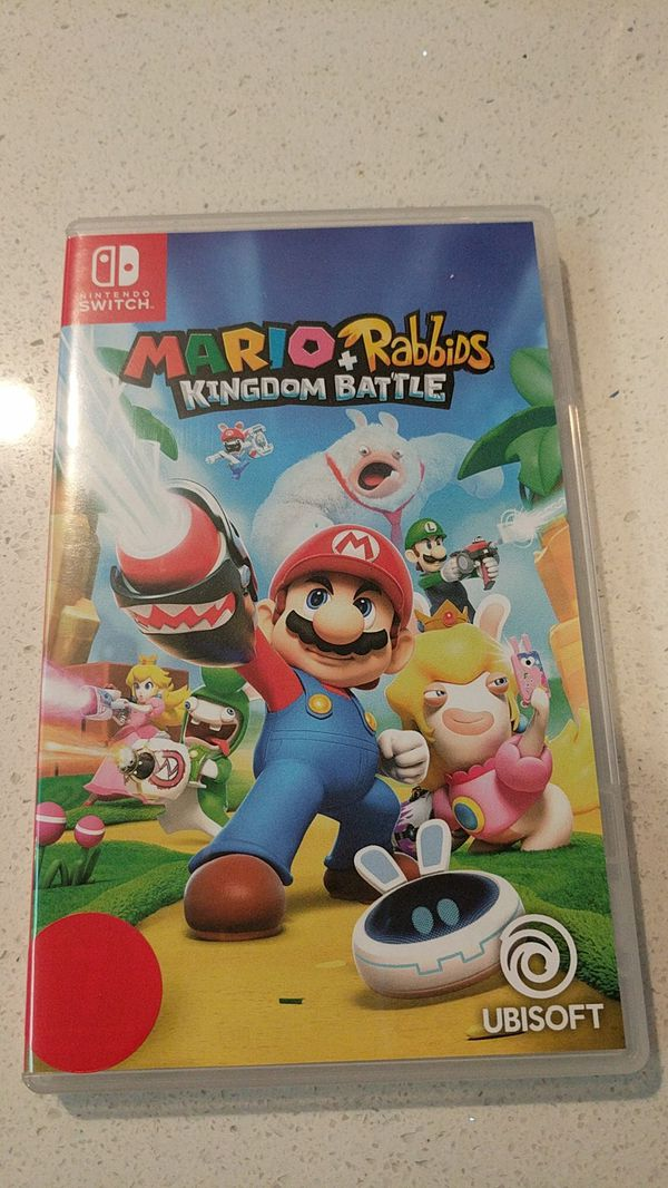 7bd31dfb01bb Mario + Rabbids Kingdom Battle Nintendo Switch game for Sale in San ...