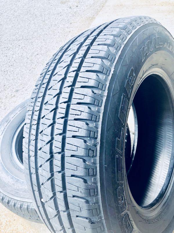 Dueler H L Alenza Plus >> Bridgestone Dueler H L Alenza Plus 245 70 R16 A For Sale In