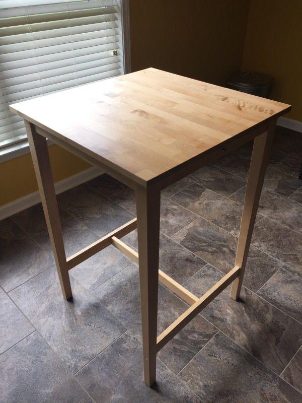 Ikea BjÖrkudden Bar Table Birch 27 1 2x27 2 Standing Desk For In Loganville Ga Offerup