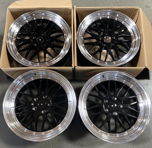 "19"" Staggered Ysm BBS Style Wheels (5x120) Fits BMW"