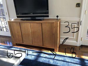 Big Sur Hutch crate Barrel. Solid Wood! for Sale in Alexandria, VA