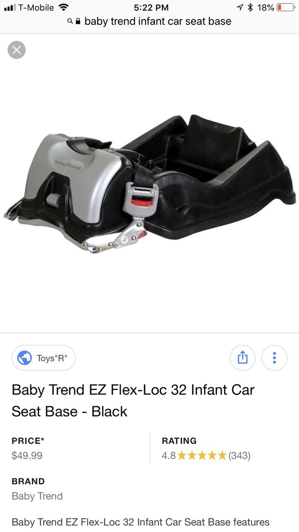 Baby Trend Infant Car Seat With 2 Bases For Sale In Oakdale CA