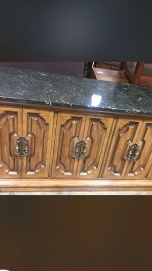 """Antique Buffet with Marble 70""""/20"""" for Sale in Adelphi, MD"""