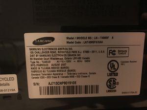 """Samsung LN-T4065F 40"""" LCD TV for Sale in Bellevue, WA"""