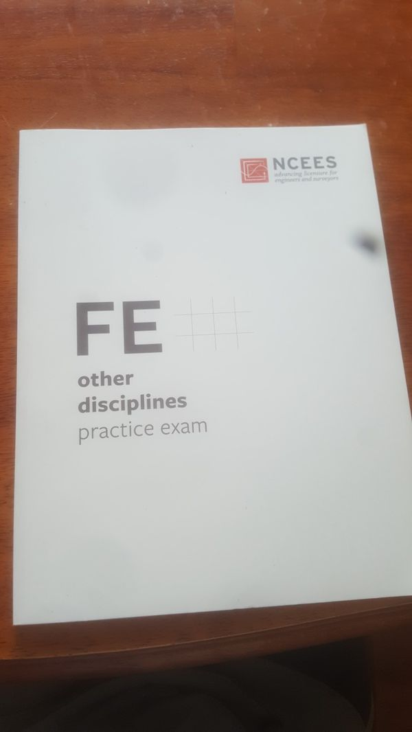 Official NCEES FE practice exam  for Sale in Chesapeake, VA - OfferUp