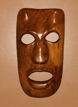 Moai - Easter Island Mask very very rare in this quality for Sale in Alexandria, VA