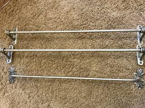 3 Silver Towel Bars for Sale in Scottsdale, AZ