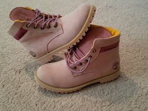 New pink Timberland for Sale in Gaithersburg, MD