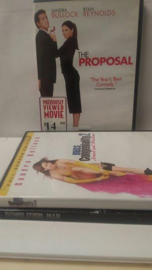 Movie sets of 3 dvds at $12 for Sale in Glen Burnie, MD