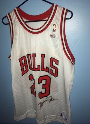 Photo Michael Jordan Signed Jersey