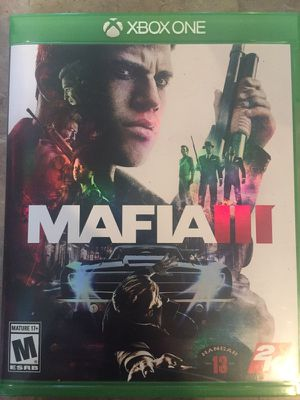 Mafia 3 Xbox one for Sale in Austin, TX
