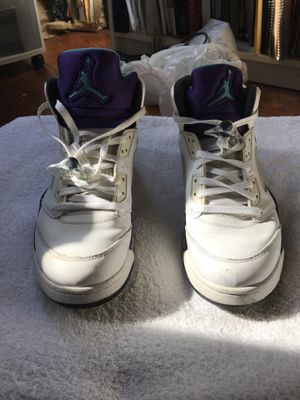 "Nike Air Jordan V ""Grape"" Sz 10.5 for Sale in Washington, DC"