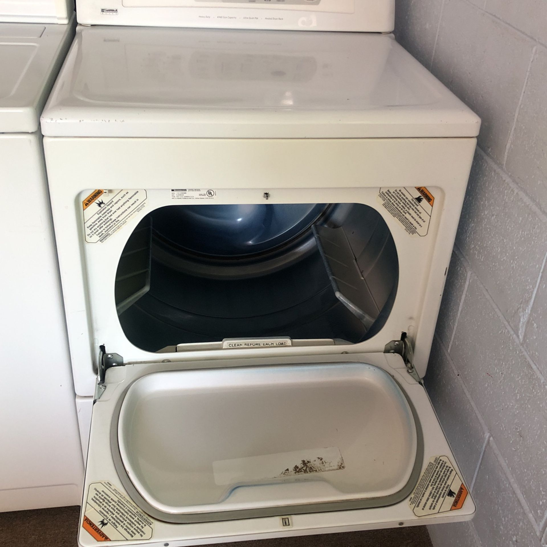 Electric Dryer Kenmore