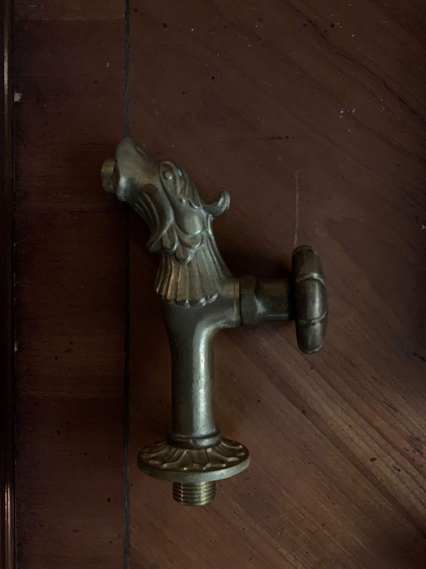 Bronze spigots heavy bronze