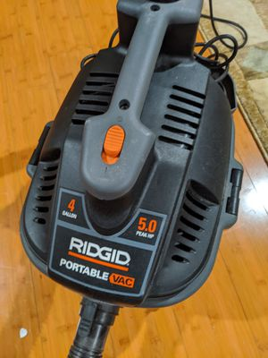 Photo Ridgid Professional power portable Shop Vacuum
