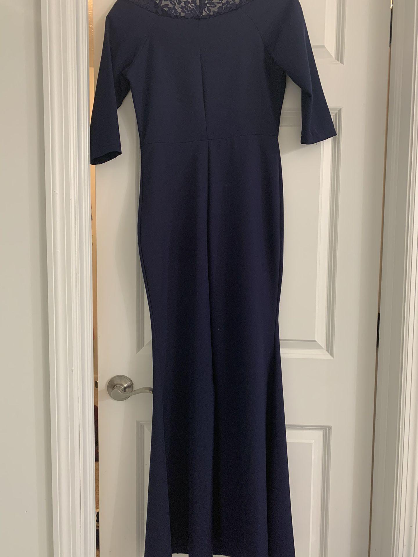 Size Small, Dark Blue Dress
