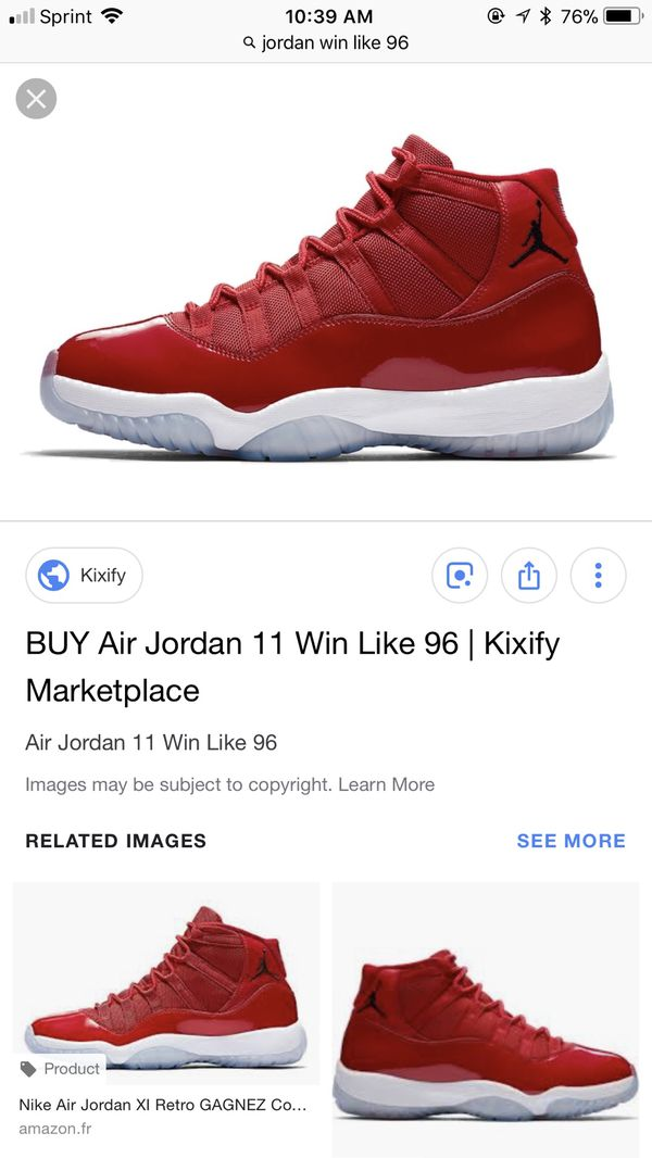 Retro 11 win like 96 for Sale in Naples af11c0e51