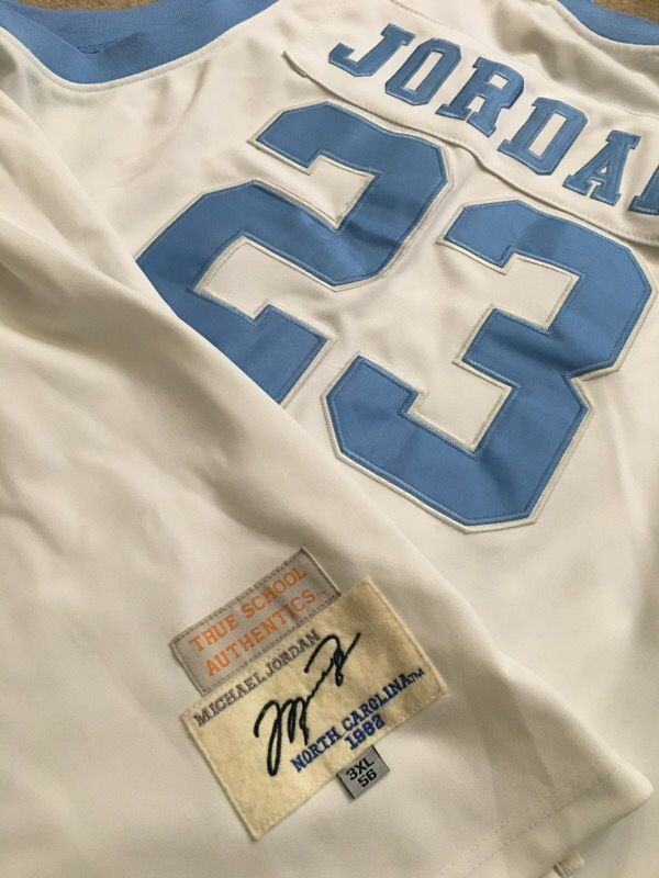 sneakers for cheap f179a 8490f Authentic True School Authentic's MJ College Jersey for Sale in White  Plains, MD - OfferUp