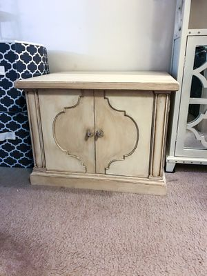 Solid wood 2-doors cabinet/nightstand/tv stand for Sale in Purcellville, VA