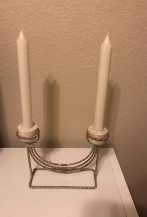 Vintage Marble Candle Stick Holder for Sale in Tampa, FL