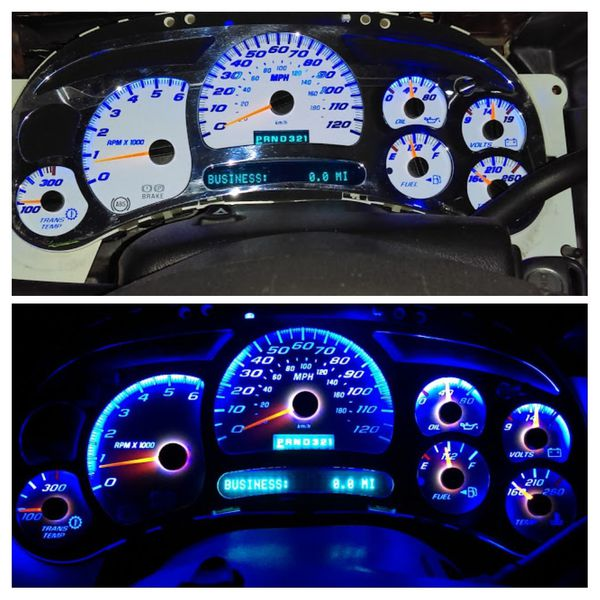 Dashboard Gauge Panel & LED Lights For Sale In Corona, CA