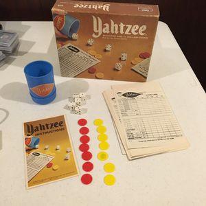 Classic 1975 Yahtzee Game for Sale in Ashburn, VA