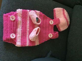 Crochet para. Bebe de 0a3 meses Thumbnail