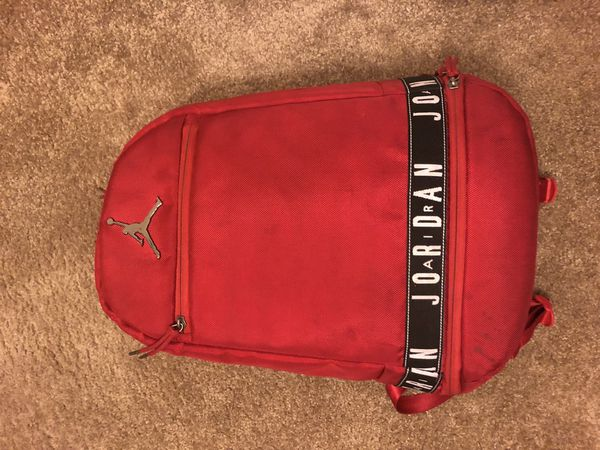 70e48ef647c red jordan basketball backpack for Sale in Rancho Cucamonga, CA ...