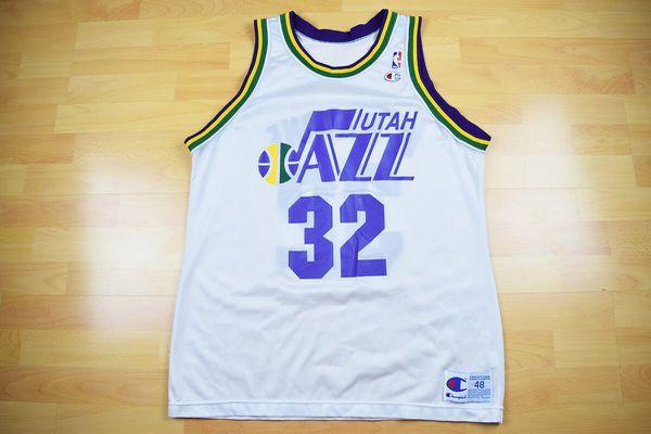 quality design c7682 46610 closeout vintage utah jazz jersey 83d44 988e1