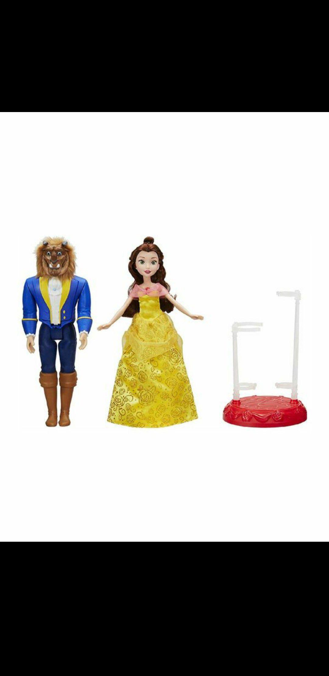 Beauty and the beast dolls Disney