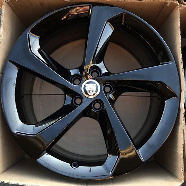 "19"" Oem Jaguar F Pace Factory Wheels 19 Inch Gloss Black Rims For Sale In Santa Ana, CA"