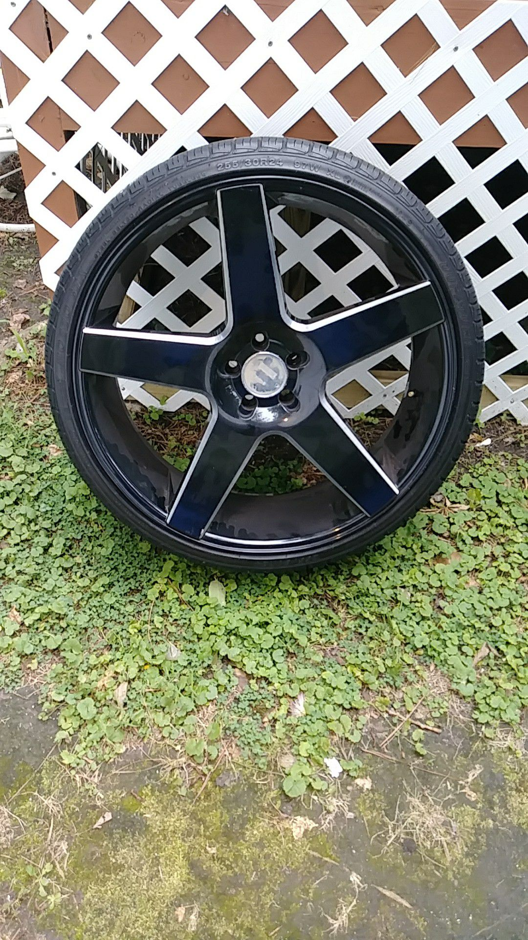 24 inch rims have 3 must get the other1