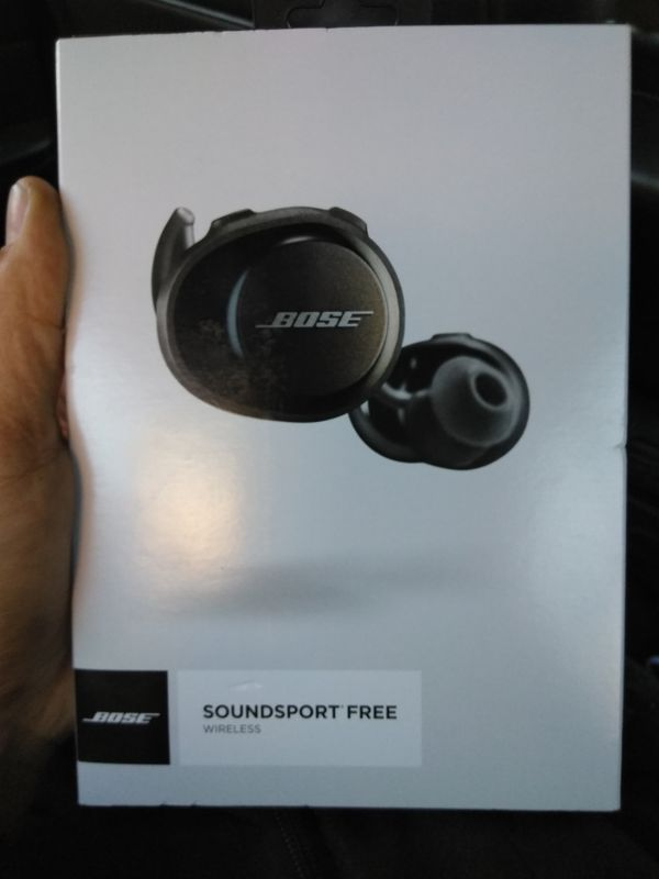 New in box Bose Soundsport Free Bluetooth headphones. Literally NO ...
