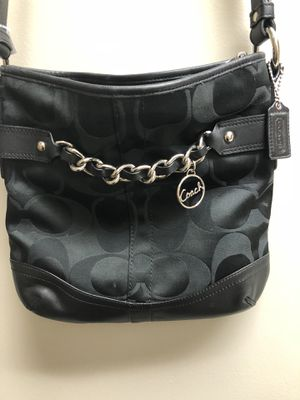 Black coach purse for Sale in Inwood, WV