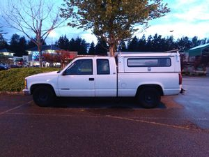 1995 Chevrolet Cheyenne 2500 with extended cab and tail hitch braking system for Sale in Seattle, WA