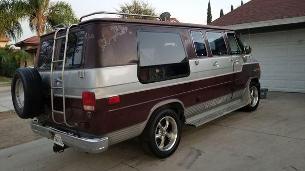 1988 Chevy Van G20 3 4 Ton RV Custom For Sale In Hesperia CA