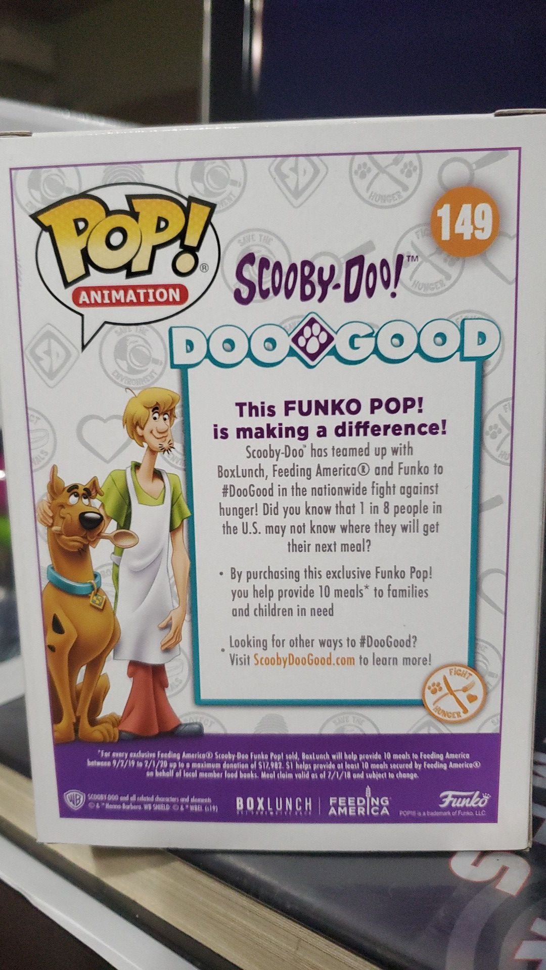 Scooby Doo Flocked BL Exclusive