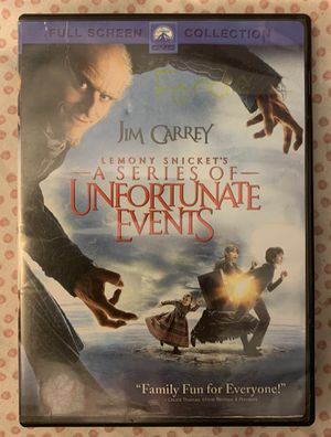 Lemony Snicket's A Series of Unfortunate Events DVD for Sale in Chapel Hill, NC
