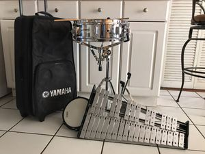 Yamaha drum set, stands and more for Sale in Orlando, FL
