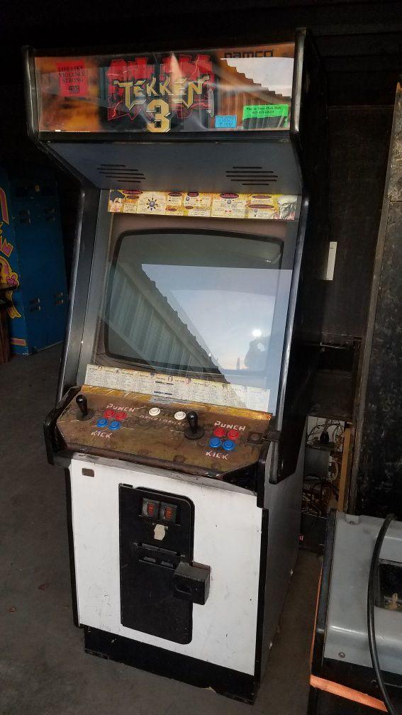 Tekken 3 Arcade Game For Sale In Mesa Az Offerup